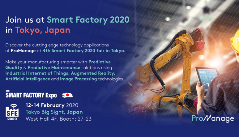 Join us at Smart Factory 2020 in Tokyo, Japan