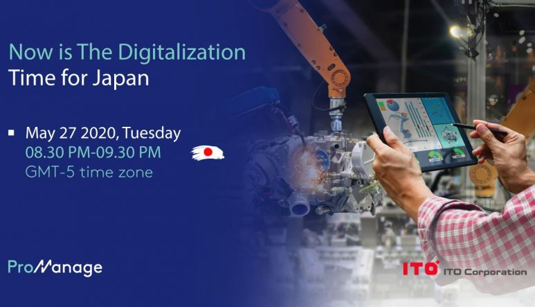 Now is The Digitalization Time for Japan